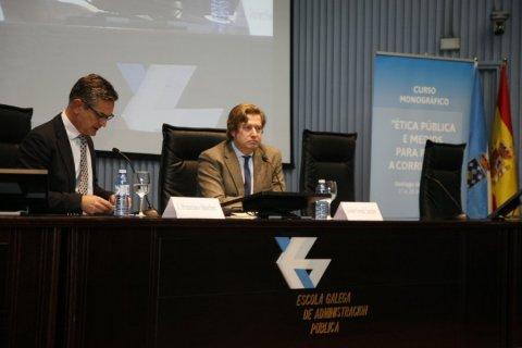 Conferencia de Javier Gomá, autor da tetraloxía da Exemplaridade  - Curso monográfico sobre ética pública e medios para previr a corrupción